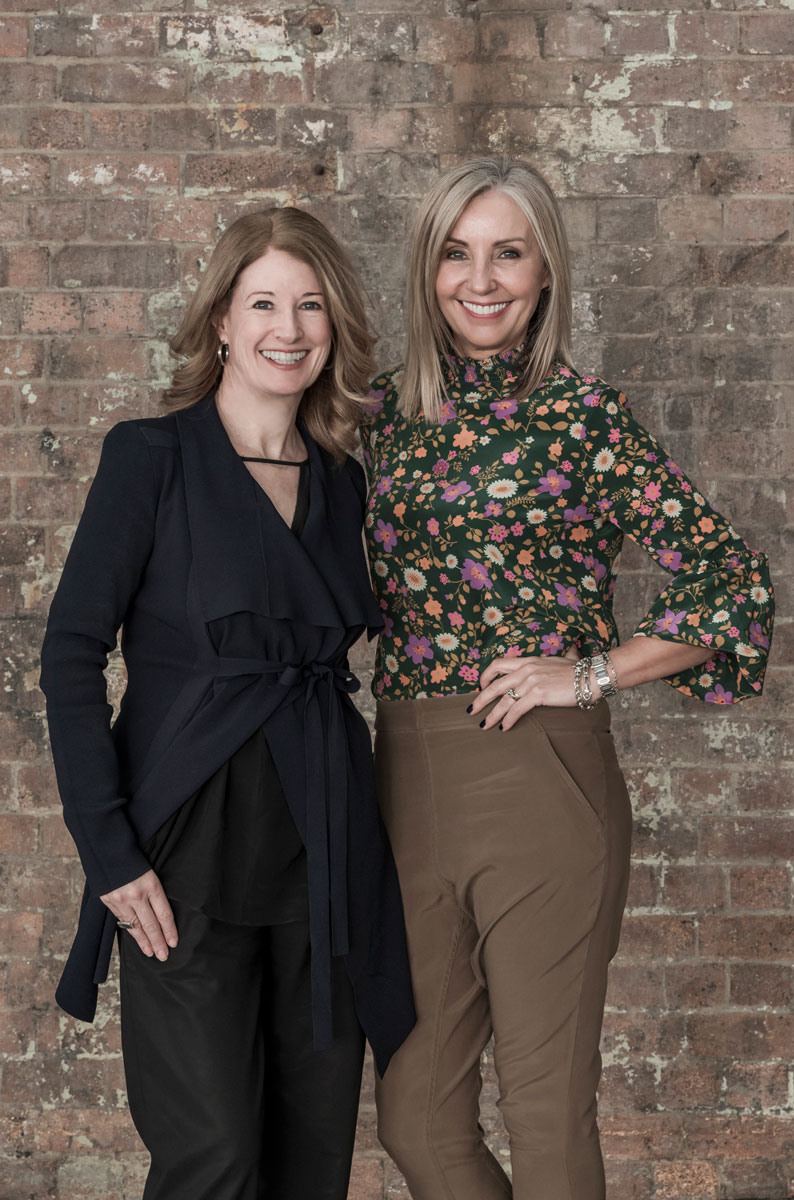 Karen McCartney and Jayne Ferguson, from Edit'd
